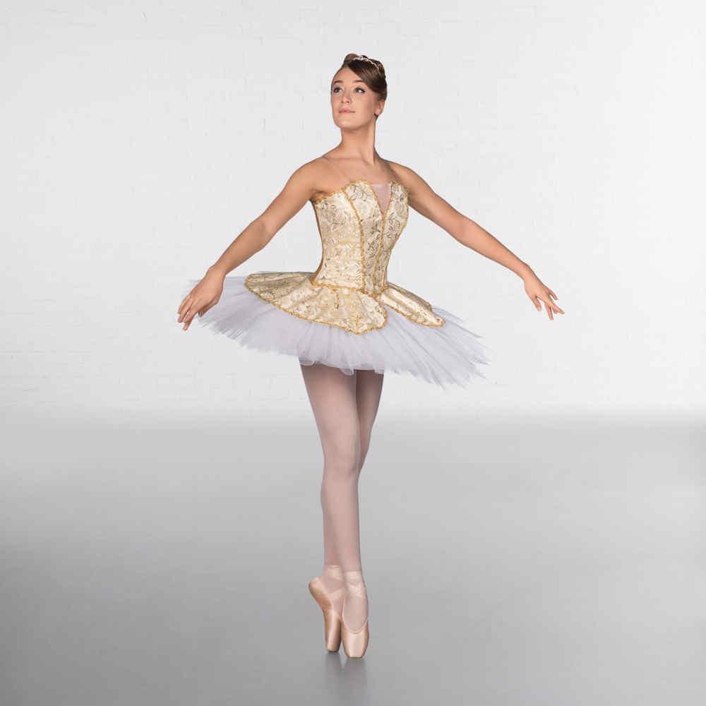 9ded39cc1f32 1st Position Prestige Gold Ballet Tutu