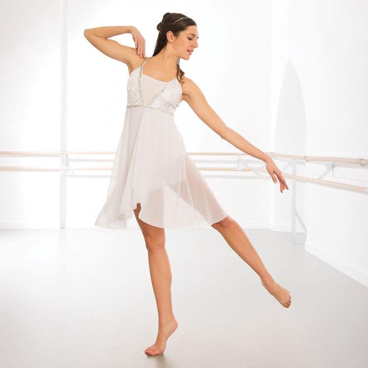 Lyric lyrical dance dresses : 1st Position Sequin Lyrical Dress | The Dancers Shop Uk