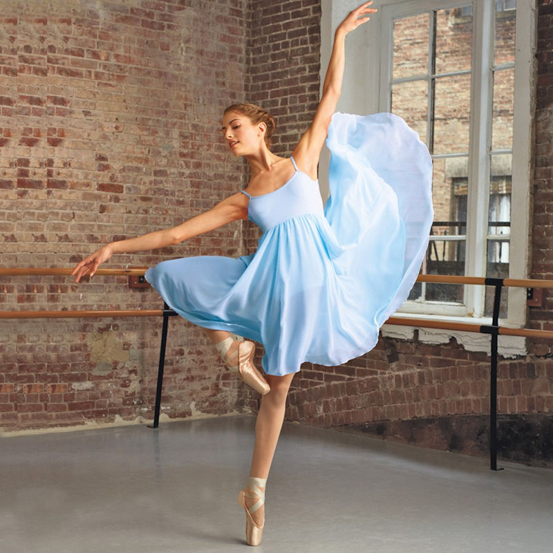 Capezio Camisole Empire Lyrical Dress The Dancers Shop Uk