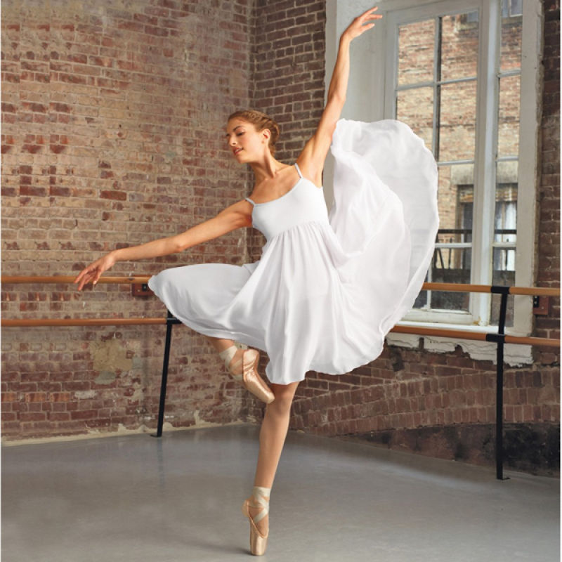 978532a2e4610 Capezio Camisole Empire Lyrical Dress | The Dancers Shop UK