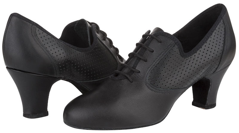 8e05978b9f9 Freed of London Florence Black Ballroom Practice Shoes
