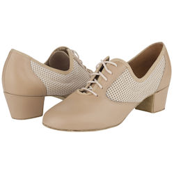 9f45ee7a1e6 Freed Venice Ladies Tan Leather Ballroom Practice Shoes