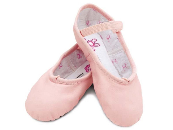 c0883ff48 Bloch BunnyHop Pink Leather Ballet Shoes