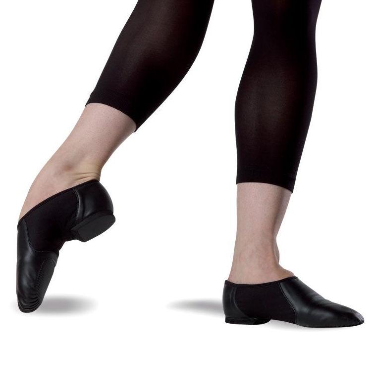 Bloch Neo Slip-on Jazz Shoes S0495L In Black