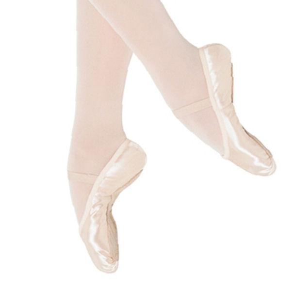 bloch prolite childrens pink satin ballet shoes s0231g