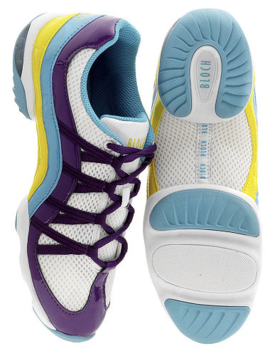 dance trainers with spin spot
