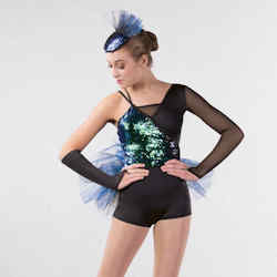 Blue/Green Contemporary Dance Costume