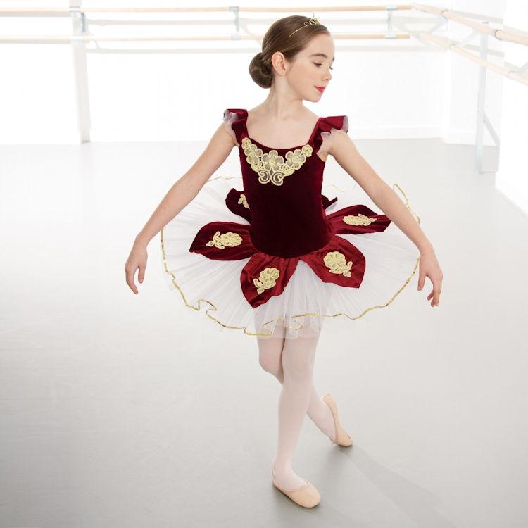 92a0e2dec 1st Position Velour Applique Childrens Ballet Tutu