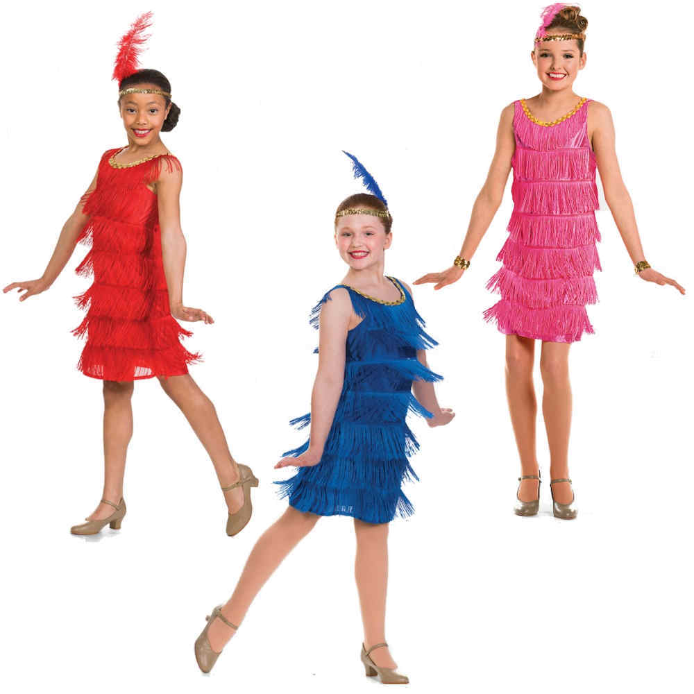 c64810bb6d03 Gatsby Style Flapper Dance Dresses / Charleston Dance Costume