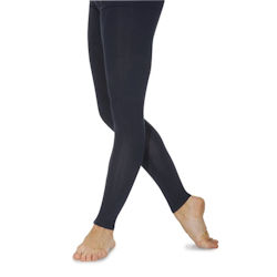 Cotton Lycra Footless Tights Sizes 3 to 5