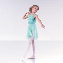 Childrens Flower Pattern Lyrical Dress  sc 1 st  The Dancers Shop & Lyrical Dresses and Lyrical Dance Costumes