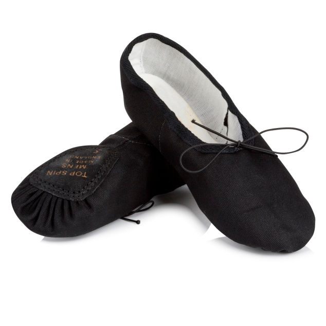 Freed Top Spin Mens Canvas Ballet Shoes The Dancers Shop