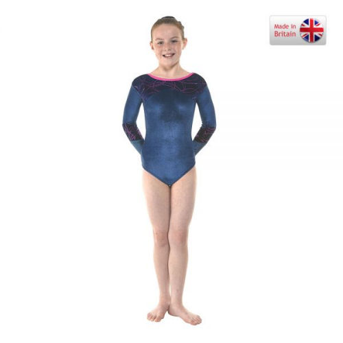 8d3a97ec295f Long Sleeve Gymnastics Leotards from Tappers and Pointers made in the UK