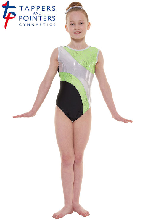 6372ffbfe Tappers and Pointers Carnival Sleeveless Gymnastics Leotards