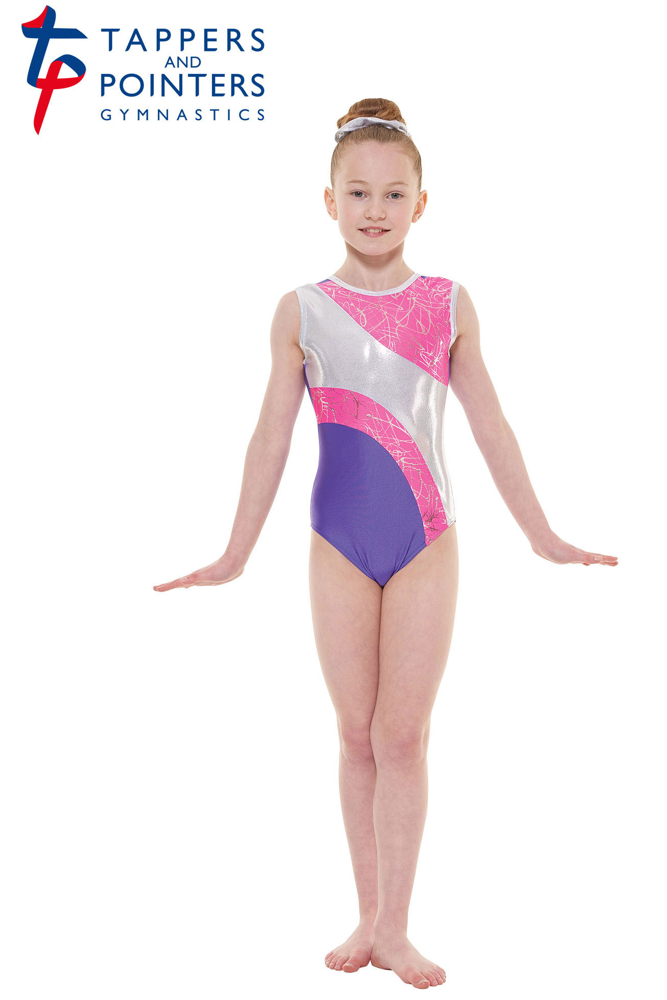 3f7dabe26 Tappers and Pointers Childrens Sleeveless Gymnastics Leotard GYM 37 ...