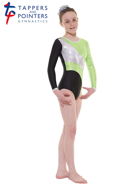 ddf337c16 Childs long sleeve gymnastics leotard GYM 38