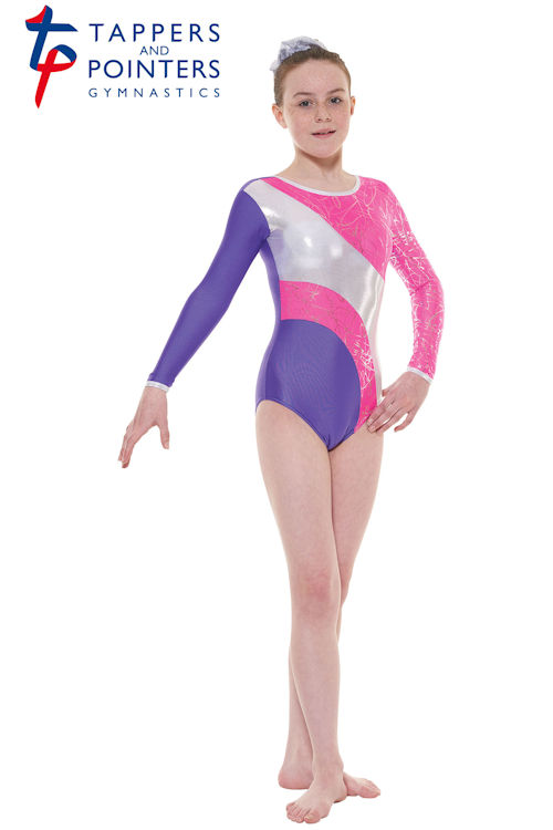 0a8c59fe2 Tappers and Pointers long sleeve gymnastics leotards