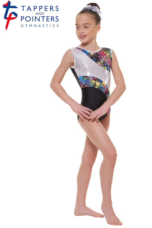 31aa95bf348a Tappers and Pointers Childrens Sleeveless Gymnastics Leotard GYM/39 ...