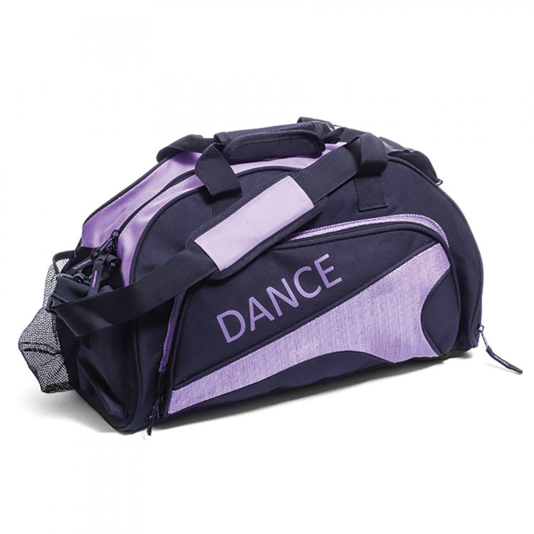 84db45846f9 ... Katz Black Purple Medium Sports   Dance Bag ...