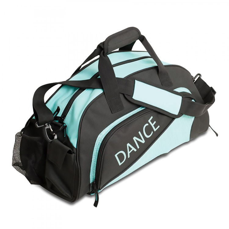 1756dbe93f0 ... Katz Black Turquoise Medium Sports   Dance Bag ...