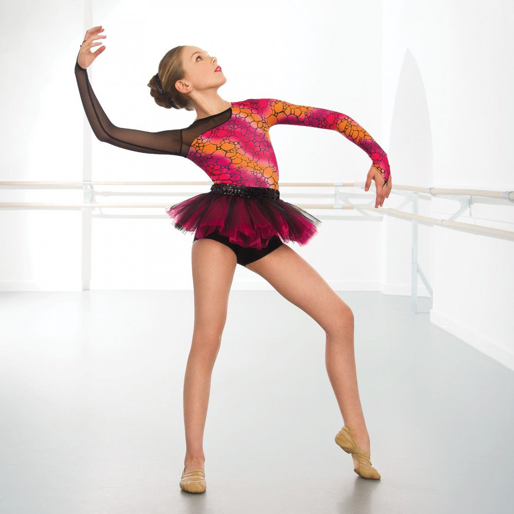 High-quality costumes for jazz, tap, lyrical, hip hop and ballet; all of our dance costumes come with free accessories like gloves, tiaras and boot covers for a complete look at an affordable price.