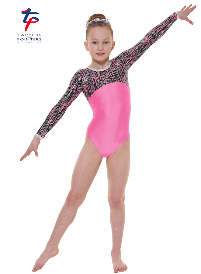 7c310215c Tappers and Pointers ladies long sleeve gymnastics leotards