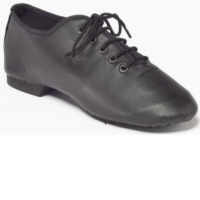 NEW Leather Upper Quality Black Jazz Shoes Neoprene quality thought the centre